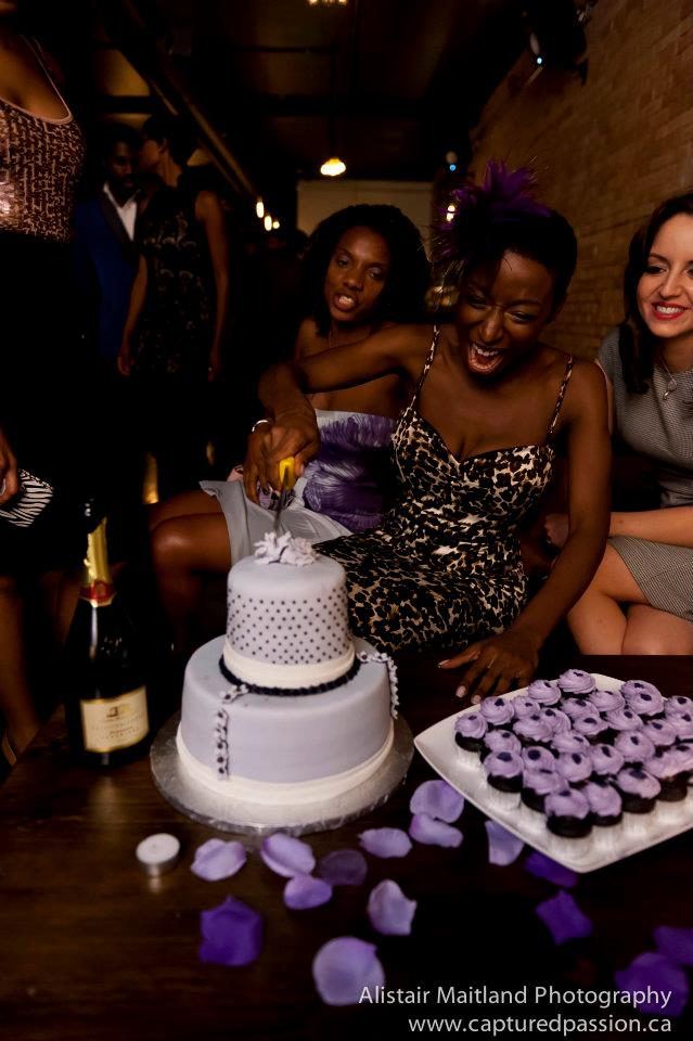 Birthday Party Vintage Cake
